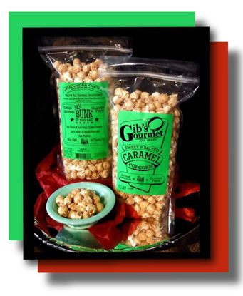 Picture of Gib's Sweet & Salted Caramel Popcorn 10 oz.